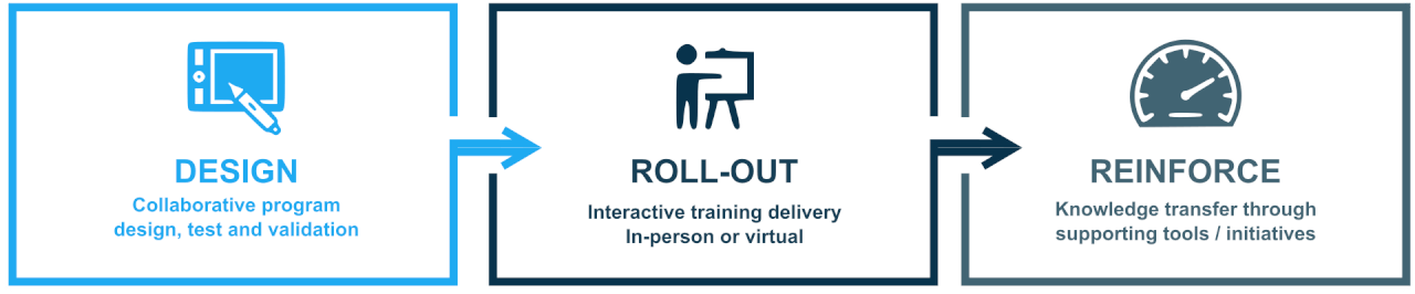 Training Design and Roll-Out